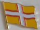 Dorset County Flag Enamel Pin Badge